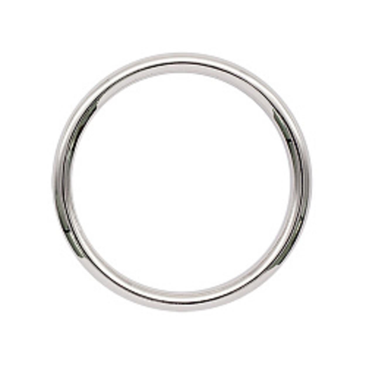 Кольцо литое 20 мм. (никель)