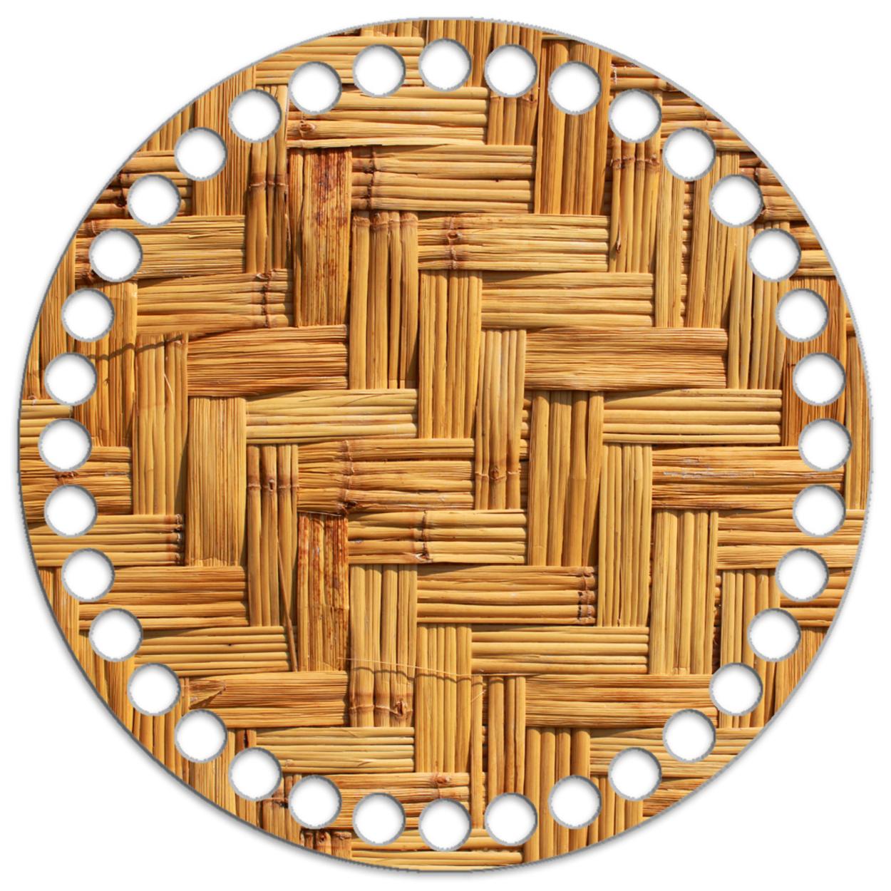 Круг 15 см. Бамбук