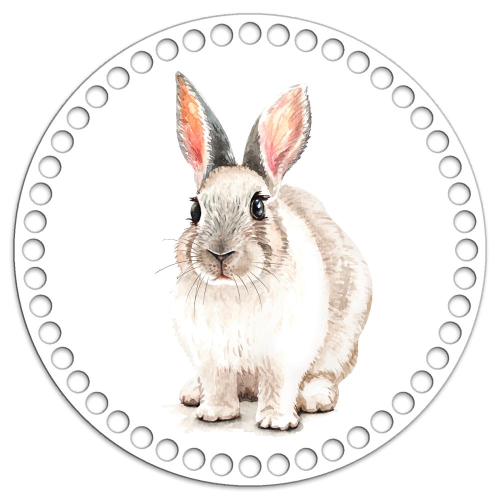 Круг 20 см. Кролик