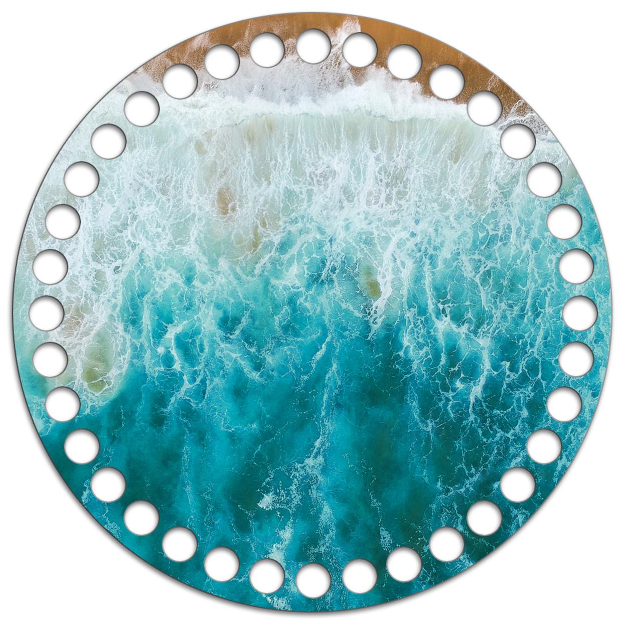 Круг 15 см. Океан