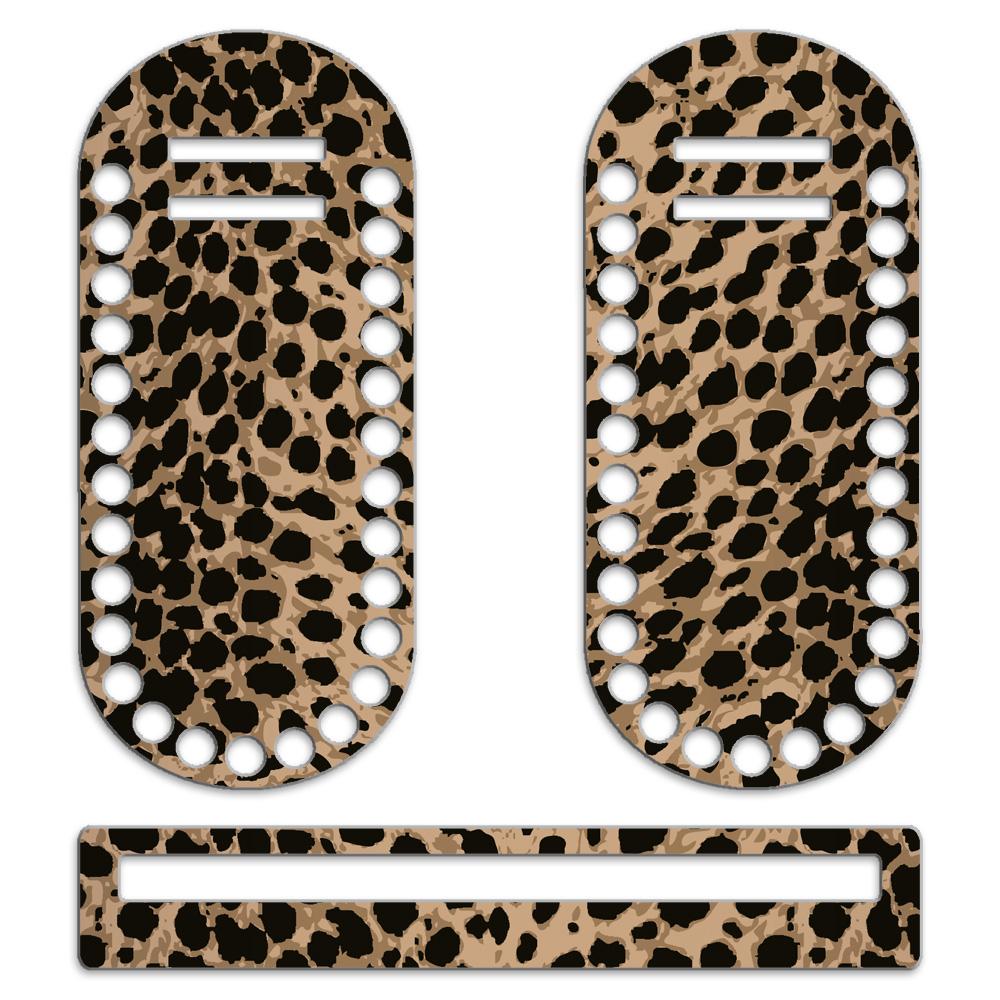 Каркас для сумки мини Леопард