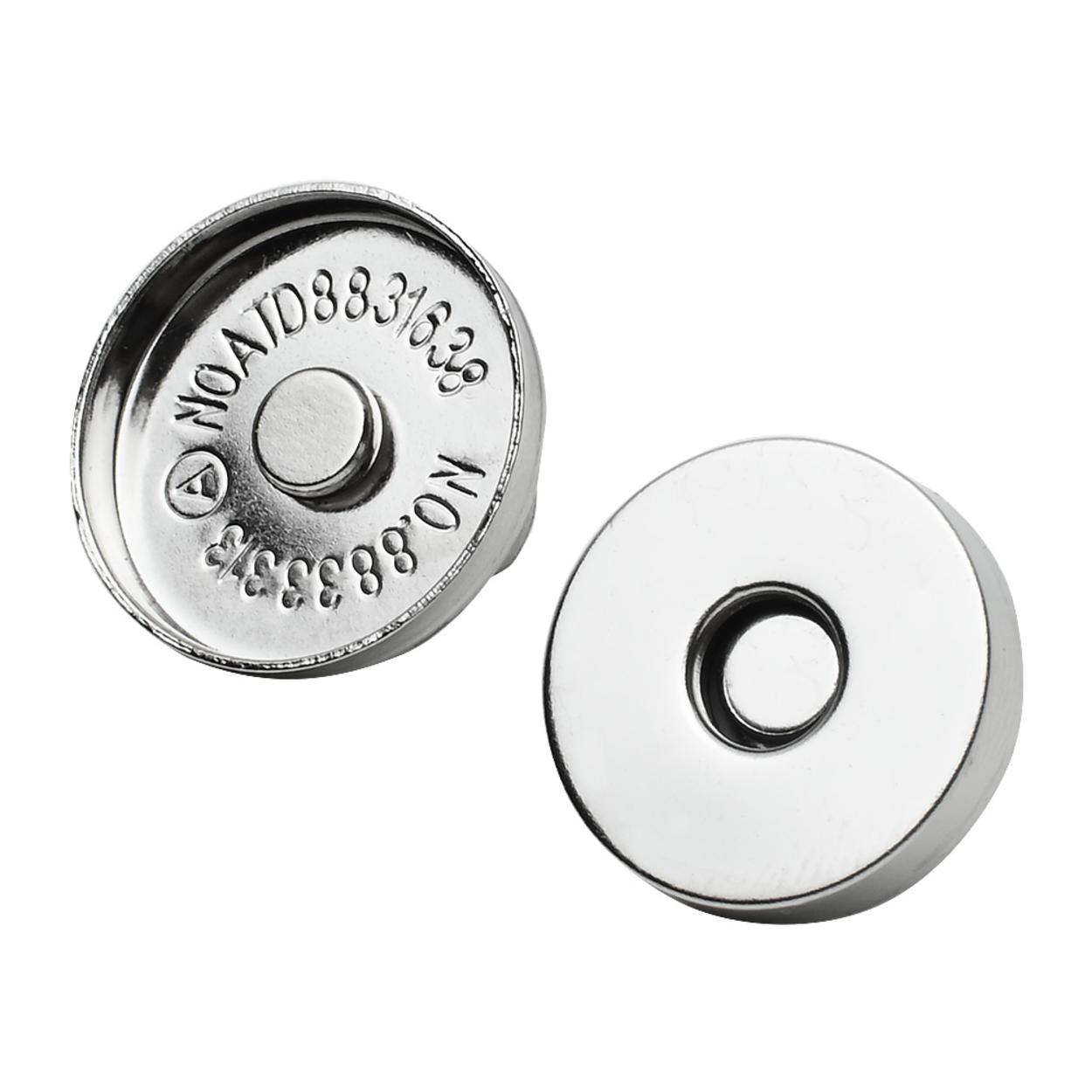 Магнитная кнопка 18 мм. (никель)
