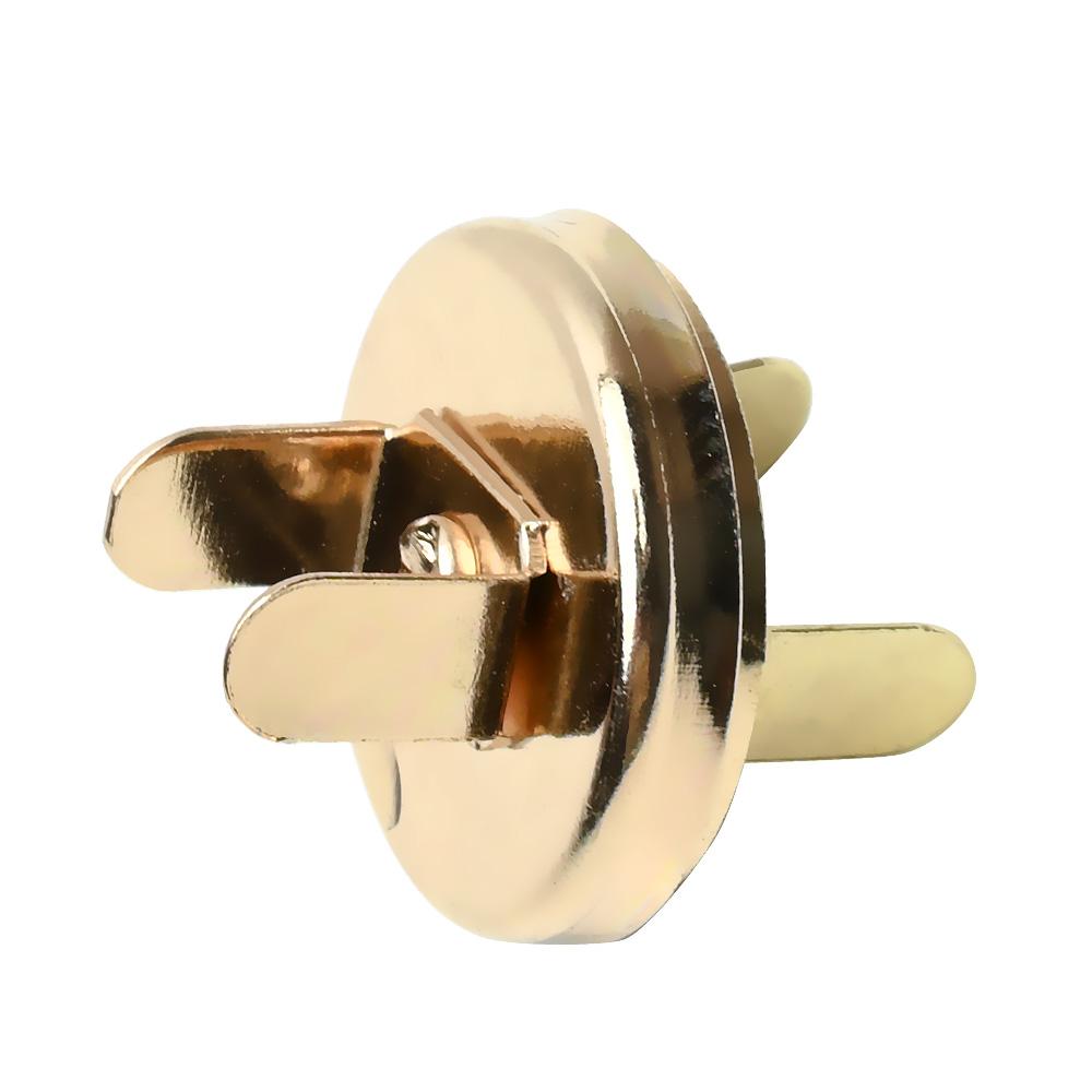 Магнитная кнопка 18 мм. (золото)