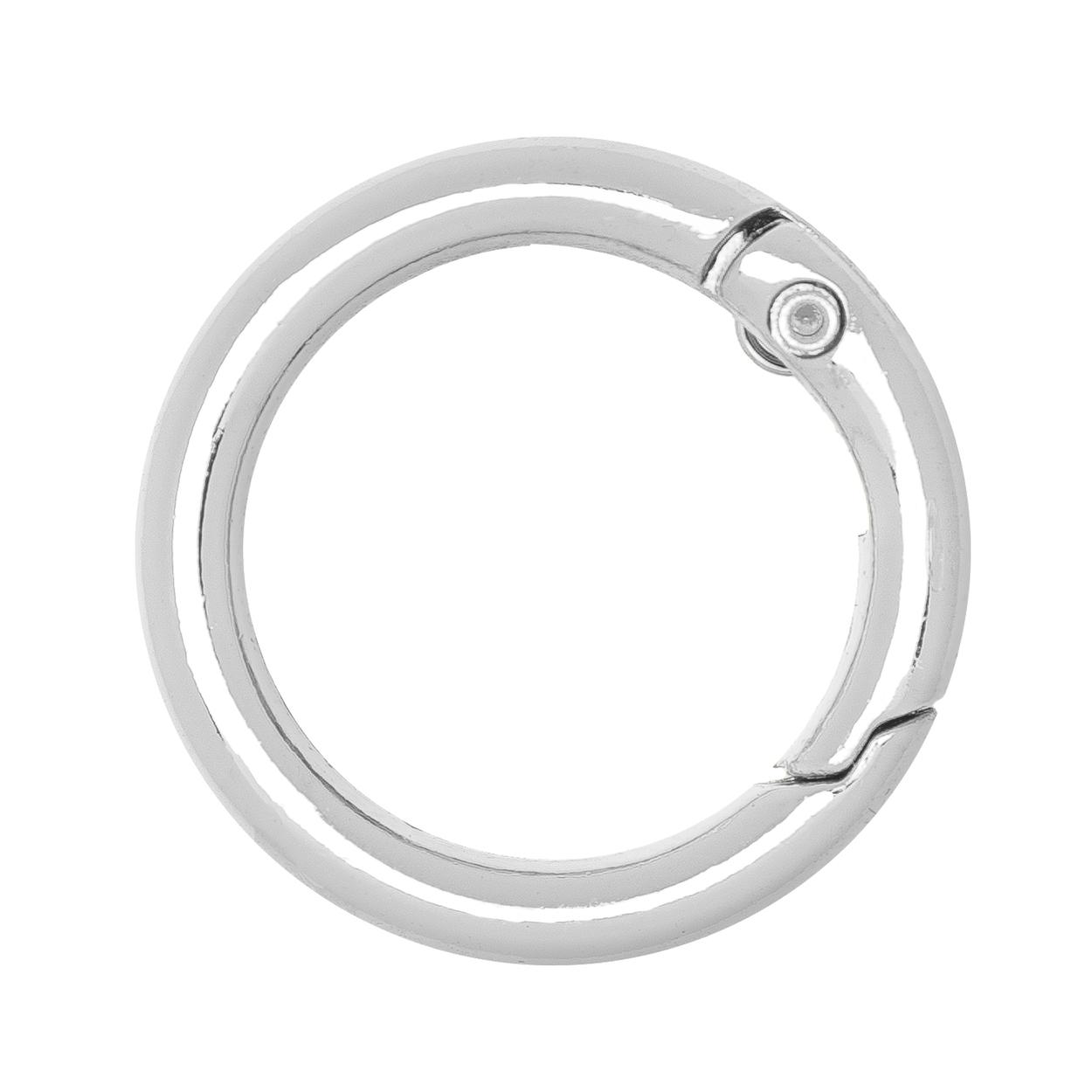 Кольцо разъёмное 25 мм. (никель)