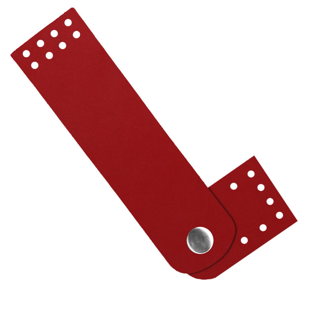 Кожа - Застежка для сумки Red hot