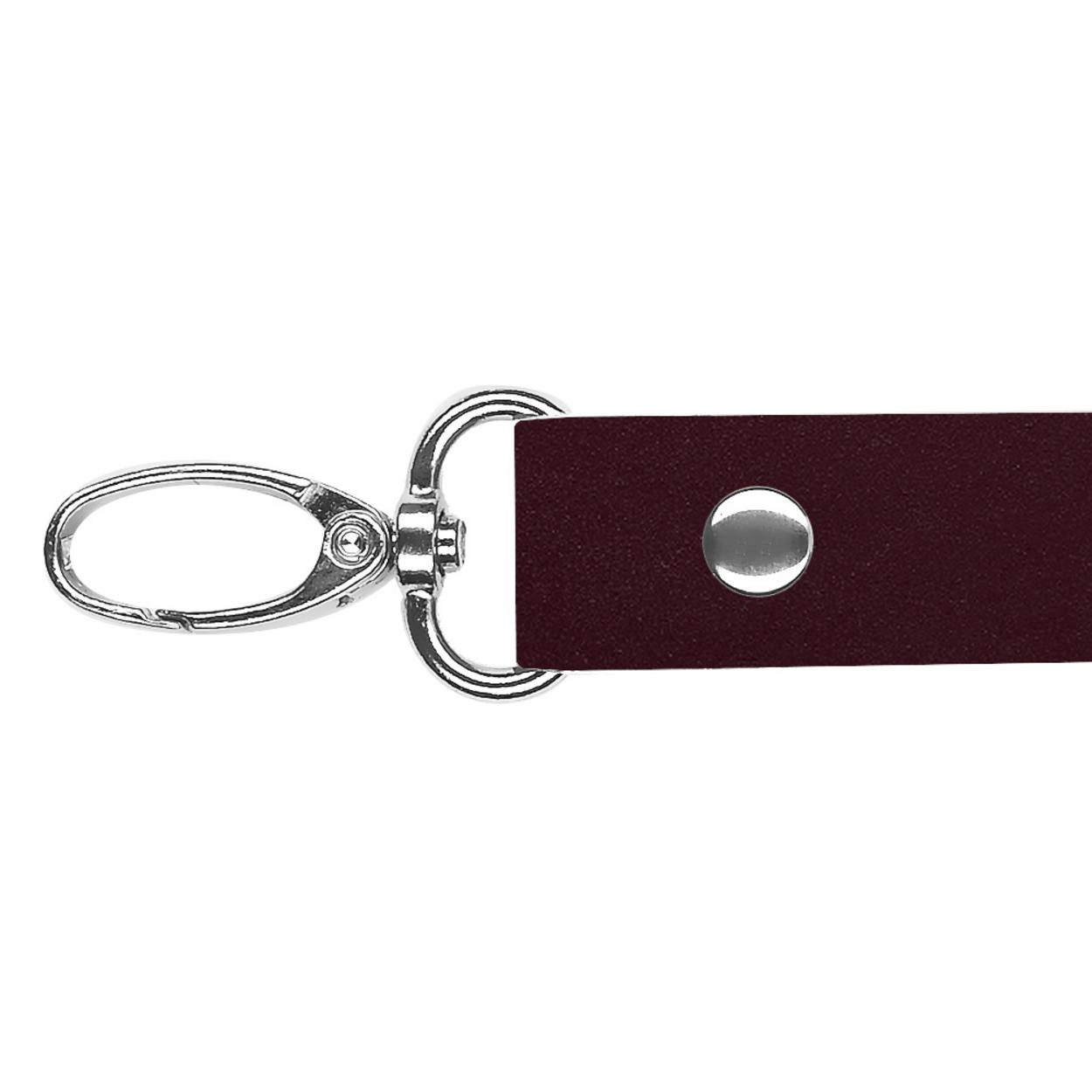 Кожа - Ручка 44 см. Cherry