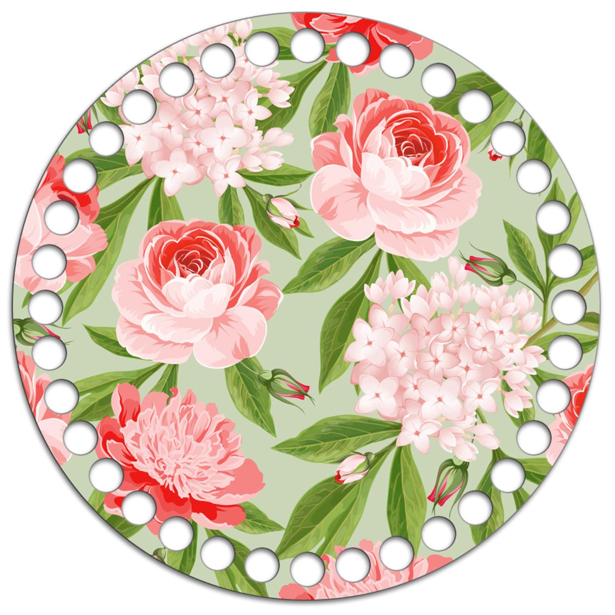 Круг 15 см. Garden Rose