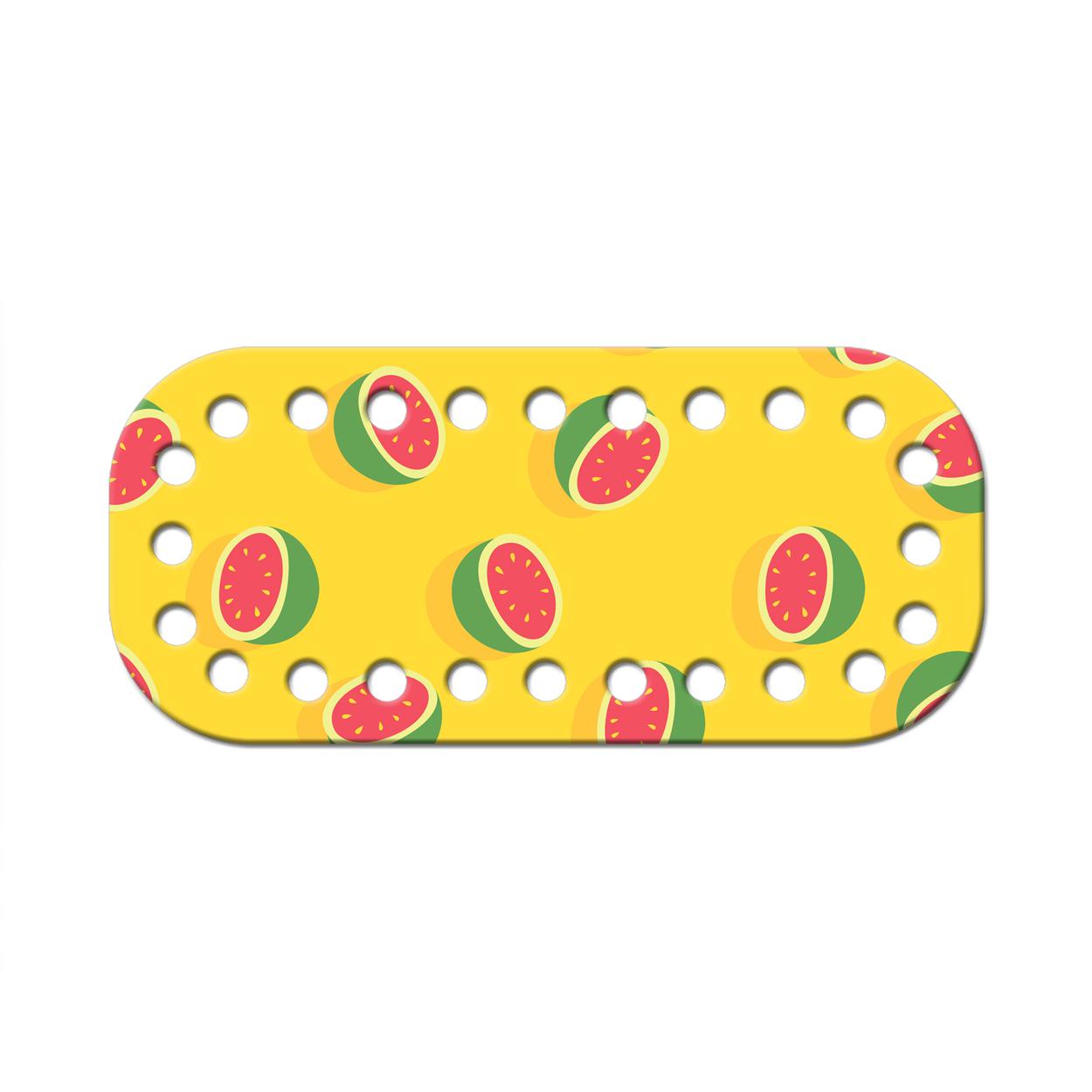 Дно для сумки мини 5 х 11 см. Tutti frutti