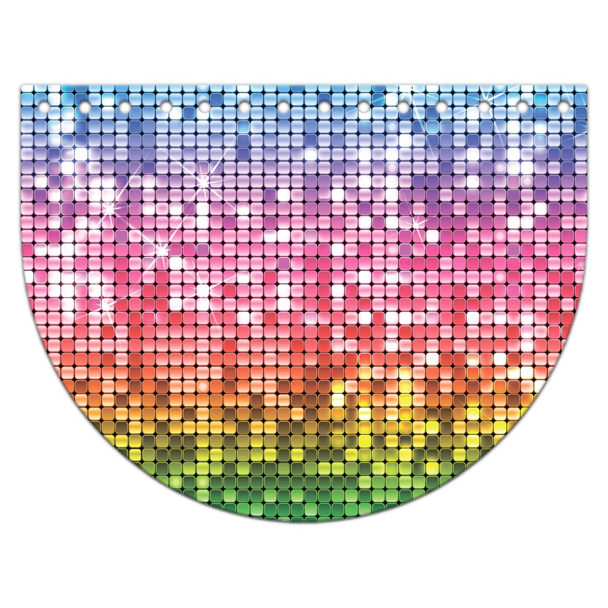 Крышка-клапан 15 х 20 см. Confetti party