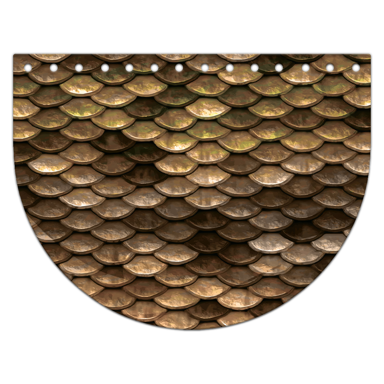Крышка-клапан 15 х 20 см. Gold fish