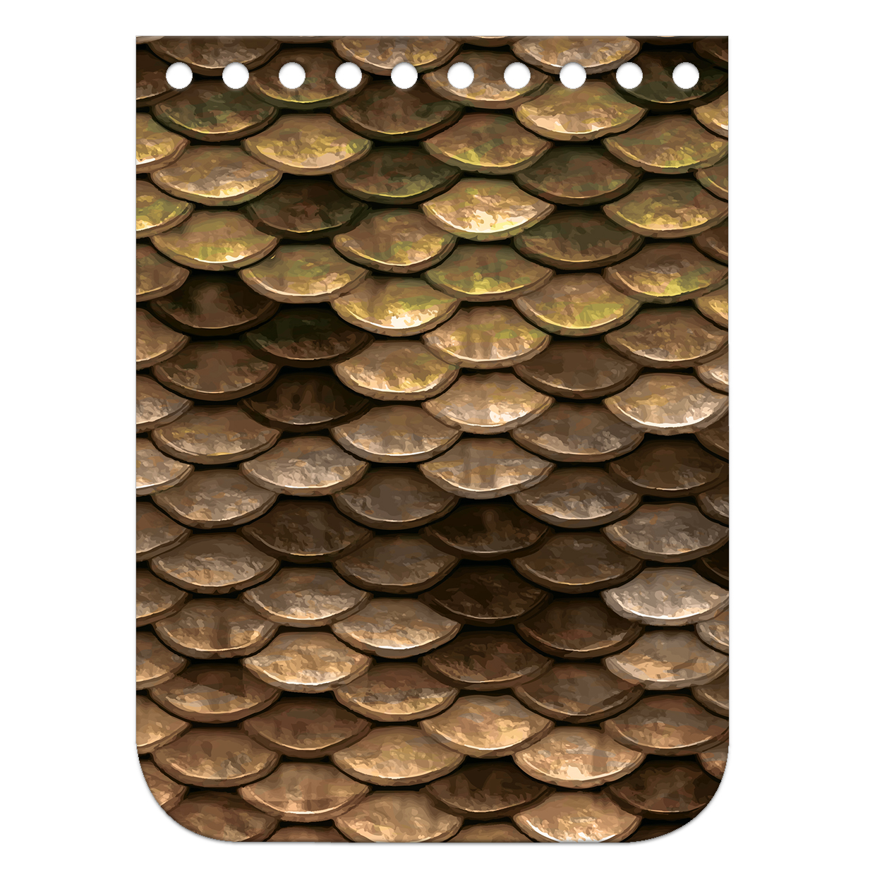 Крышка-клапан мини 11 х 15 см. Gold fish
