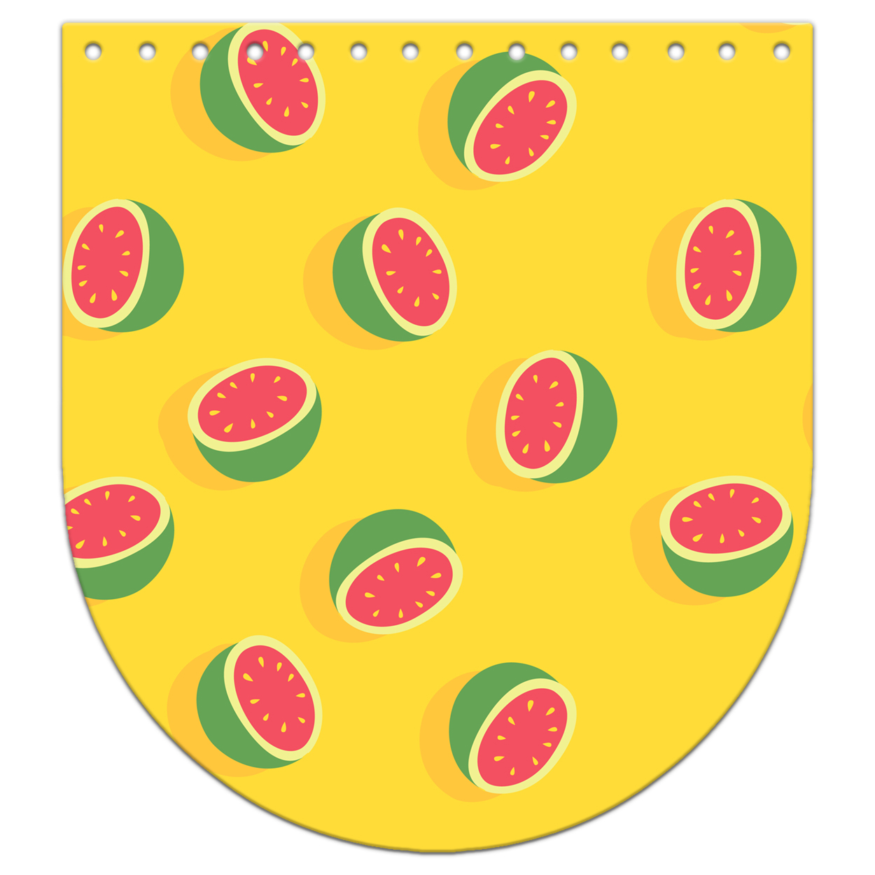 Крышка-клапан 20 х 22 см. Tutti frutti