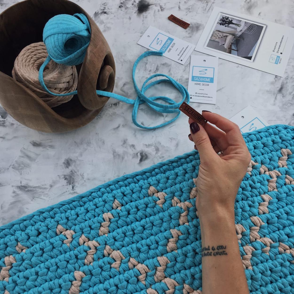 Мастер-класс по ковру, на примере коврика!
